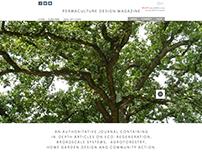 Website Design for Permaculture Design Magazine