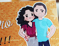 Wedding Invitation: Carmen and Pedro
