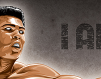 I Am The Greatest - Ali Tribute Piece