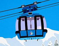 Grandvalira Ski Area Poster