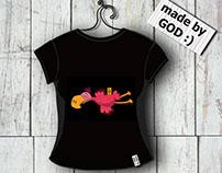t-shirts design - pelican