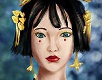 Portrait Study - Digital Painting