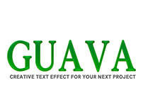 [Freebie] Guava PSD Text Effect