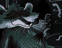 Rodney the Raccoon