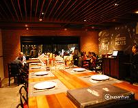 Chụp ảnh không gian nhà hàng Moo Beef Steak Time City