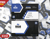 Elegant Business Card PSD Design