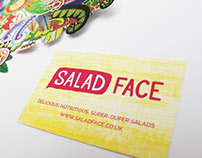Salad Face - LOGO + BRAND CREATION