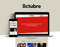 Octubre website