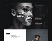Chantelle Winnie Personal Website