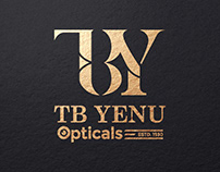 TB Yenu Opticals - Logo Branding (Part 1)