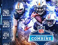 Auburn Football NFL Combine Package