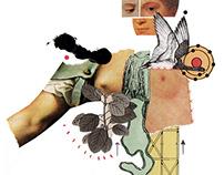 Ilustraciones para especial sobre cáncer de seno