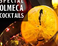 Halloween special Olmeca cocktails