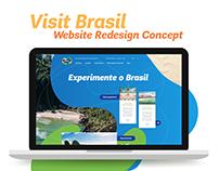 Visit Brasil :: Site Redesign