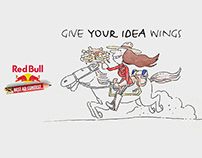 RedBull - Give Your Idea Wings Campaign