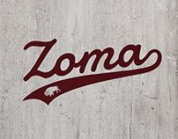 Zoma Apparel Logo & Product Detail Shots