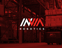 INVIA Robotics - Website design
