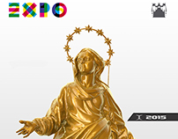 """Madonnina"" Replica for Milano EXPO 2015"