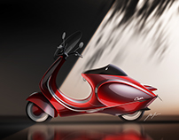 Restyling the Bajaj Chetak/Vespa Sprint