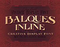 Balques Inline – Free Font