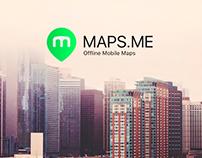 Логотип для конкурса Maps.me