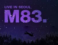 M83. Live in Seoul
