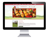 Barrowford Lifestyle Festival | Web Design