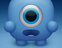 Adorable Squishy Blue Thing