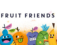 Fruit Friends Stickers