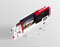 Modern UI Design for Creative Landing Page