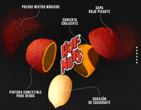 Hot Nuts Website · Barcel