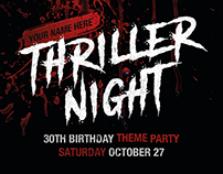 FOR SALE: Thriller Night
