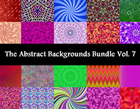The Abstract Backgrounds Bundle Vol. 7