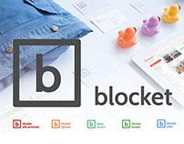 Blocket rebrand - webb and app
