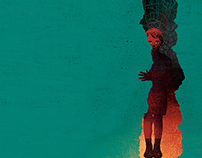 """Covers illustrations """"L'Autre Revue Transculturelle"""""""