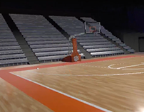 Littlejohn Coliseum: Interactive Basketball Experience