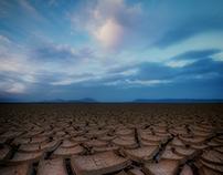 Mud Tiles at The Alvord Desert Oregon
