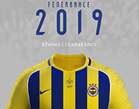 Fenerbahçe 2018 - 2019 Jersey Forma Tasarımı