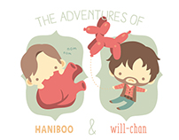 The Adventures of Haniboo & Will-chan