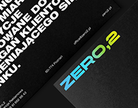 Zero,2 Branding