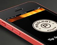 UI/UX Pieology PizzaMatic App Concept