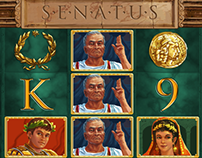Game art: Senatus slot