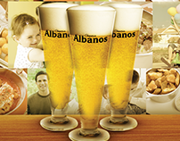 Cartaz dia dos pais Choperia Albanos