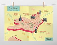 Mapa creativo - Fiestas patronales San Isidro