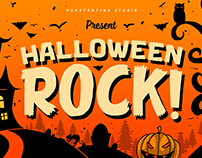 Halloween Rock! - Cute Horror Font