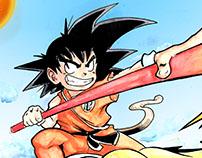 Goku print
