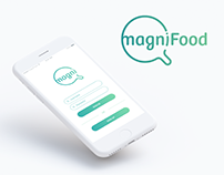 MagniFood // UI UX Design