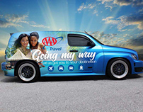 AAA Travel: Vehicle Wrap Concept