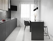 Graphite Black Kitchen