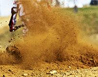 motokrosové závody / motocross race Smrk u Třebíče